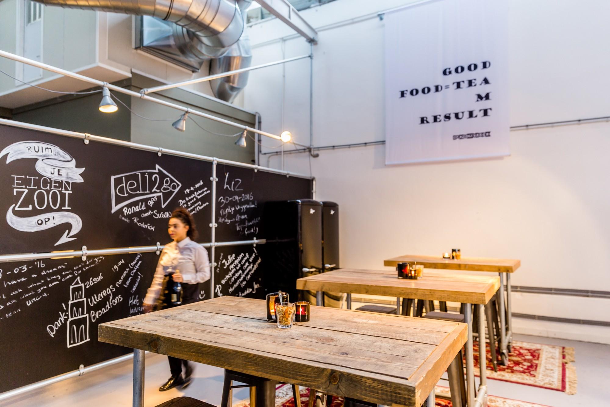 De Keuken Utrecht : Samen de keuken in de kookfabriek